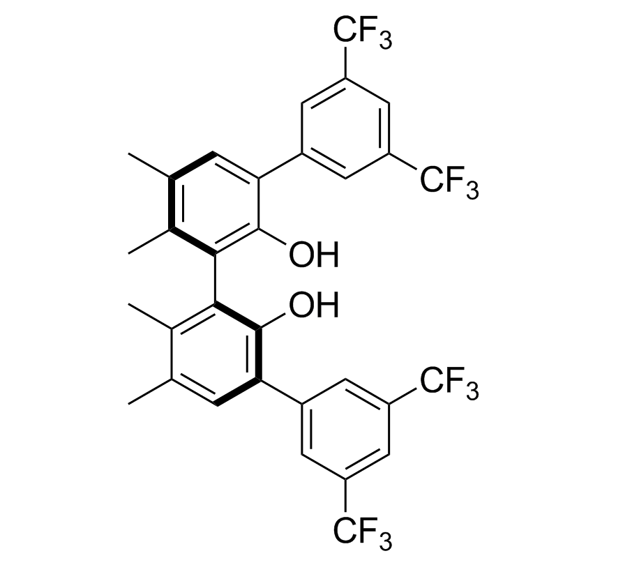 (S)-3,3'-Bis[3,5-bis(trifluoromethyl)phenyl]-5,5',6,6'-tetramethylbiphenyl-2,2'-diol