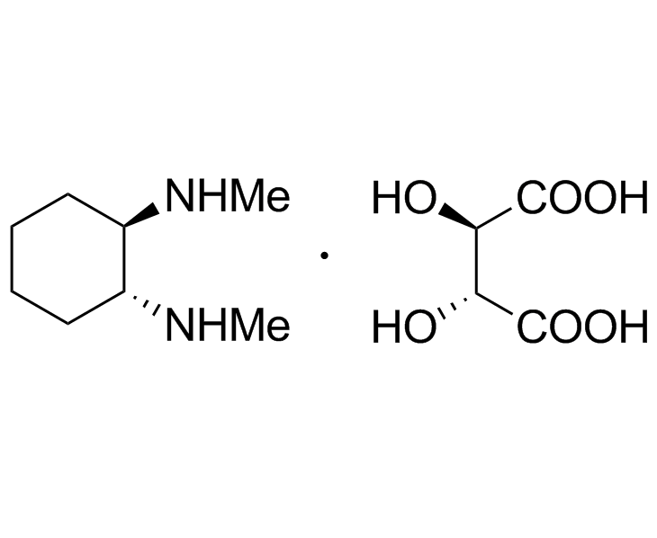 (1R,2R)-N,N'-Dimethyl-diaminocyclohexane-L-tartrate