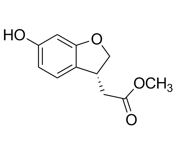 (R)-Methyl 6-Hydroxy-2,3-dihydrobenzofuran-3-ylacetate