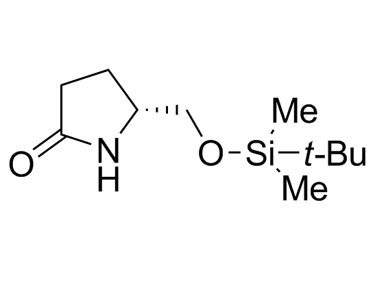 (5R)-5-[[[(tert-Butyl)dimethylsilyl]oxy]methyl]-2-pyrrolidinone